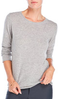 ply cashmere Roll Edge Cashmere Sweater