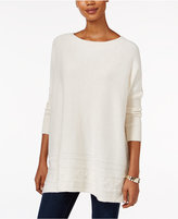 Style&Co. Style & Co. Ribbed Cable-Knit Sweater, Only at Macy's