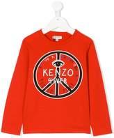 Kenzo long sleeve printed T-shirt
