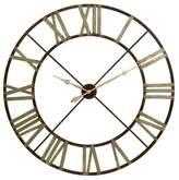 Imax Jasper Iron Wall Clock