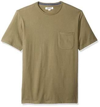 Goodthreads Men's Short-Sleeve Sueded Jersey Crewneck Pocket T-Shirt,Small
