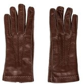 Loro Piana Leather Driving Gloves