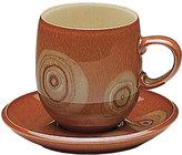 Denby Dinnerware, Fire Large Curve Mug