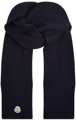 Moncler Large Wool Scarf