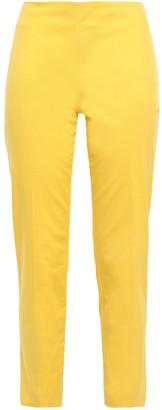 M Missoni Cropped Cotton-blend Twill Slim-leg Pants
