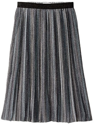 Molo Bailini Skirt (Little Kids/Big Kids) (Silver) Girl's Skirt