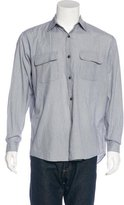 Yohji Yamamoto Striped Woven Shirt