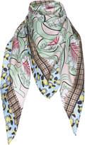 Marni Printed Silk Foulard
