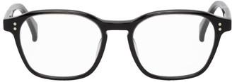 Raen Black and Transparent Rowan Glasses