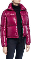 Moncler Rimac Fitted Puffer Coat