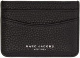 Marc Jacobs Black Leather Gotham Card Holder