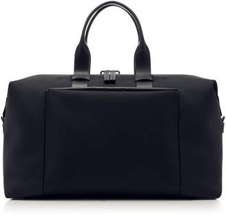 Troubadour Fabric And Leather Weekender Bag