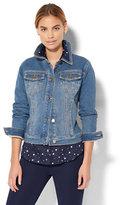 New York & Co. Soho Jeans - Knit Denim Jacket