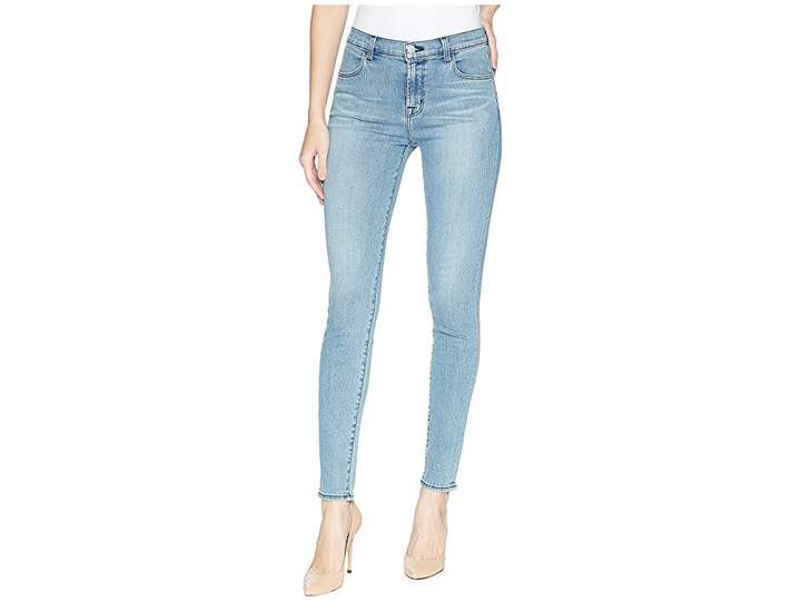 J Brand Maria High-Rise Skinny Jeans in Patriot Women's Jeans