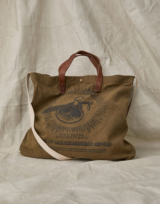 Belstaff BELL AND STAFF CANVAS TOTE Brown