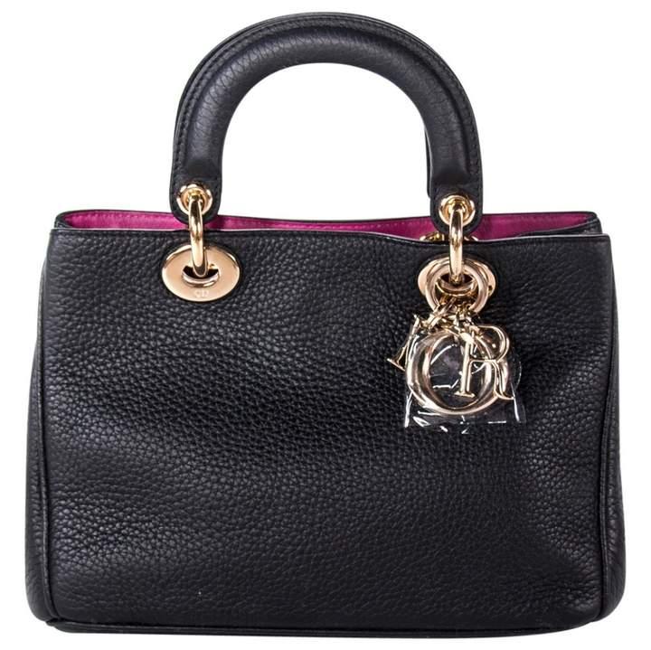 Christian Dior Diorissimo leather handbag