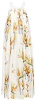 Fendi Cotton and silk-blend fil coupé dress