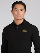 Barbour International Long Sleeve Polo Shirt - Black