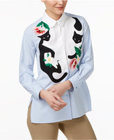 Max Mara Tresa Cotton Embroidered Shirt
