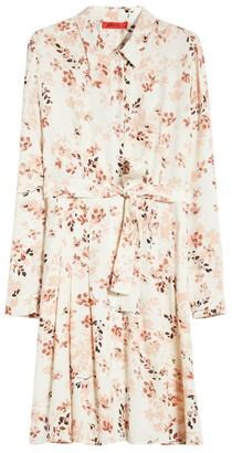 Max & Co. Floral Sable Shirt Dress