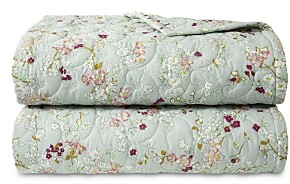 Yves Delorme Blossom Quilted Coverlet, King