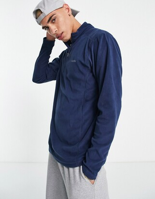 Columbia Klamath Range II half zip fleece in navy