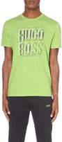HUGO BOSS Logo-print modern-fit cotton-jersey t-shirt
