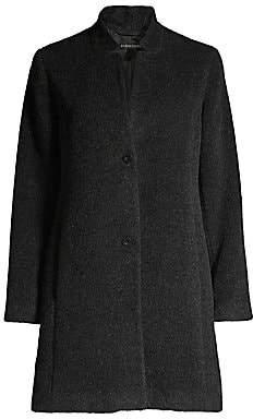 Eileen Fisher Women's Alpaca & Wool Blend A-line Coat
