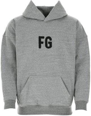 Fear Of God Monogram Logo Hoodie