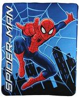 SpiderMan Kids Character Lightweight Fleece Throw Blanket