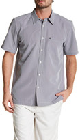 Quiksilver Short Sleeve Regular Fit Pocket Shirt