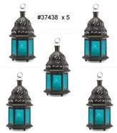 MOROCCAN LANTERN Candle Lanterns Set of 5