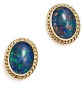 Bloomingdale's Opal Triplet Bezel Stud Earrings in 14K Yellow Gold - 100% Exclusive