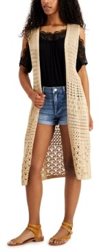 Freshman Juniors' Duster Vest