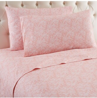 Shavel Micro Flannel Printed Sheet Set - Queen