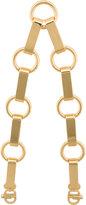 Mark Cross large chain strap - women - Brass - One Size