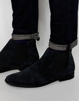Base London William Suede Chelsea Boots