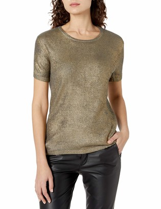Majestic Filatures Women's Short Sleeve Sweater