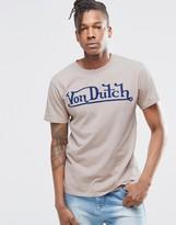 Von Dutch T-Shirt With Large Logo