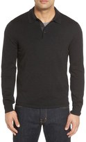 John W. Nordstrom Oversize Wool Polo Sweater