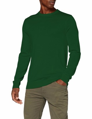 Scotch & Soda Men's Solid Merino Crewneck Pull Sweater