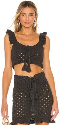Majorelle Hardy Crochet Top