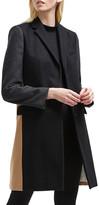 French Connection Platform Wool-Blend Smart Coat
