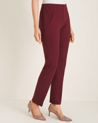 So Slimming Juliet Side-Vent Ankle Pants