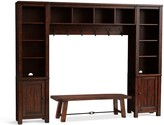 Pottery Barn Benchwright 4-Piece Entryway Set with Bench