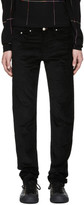 Paul Smith Black Corduroy Tapered Trousers