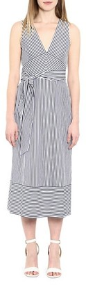 MICHAEL Michael Kors Mixed Stripe Tie Dress