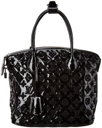 Louis Vuitton Black Monogram Fascination Canvas Lockit