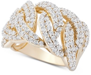 Wrapped in Love Diamond Statement Ring (2 ct. t.w.) in 14k Gold, Created for Macy's