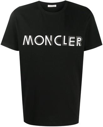 Moncler logo-print slim-fit T-shirt